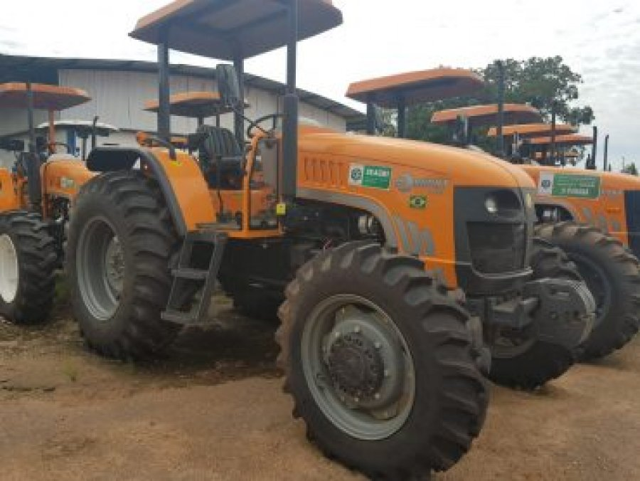 Setor produtivo de Rondônia recebe equipamentos e maquinários agrícolas